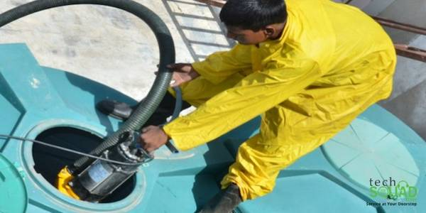 Professional water tank cleaning service in Bangalore