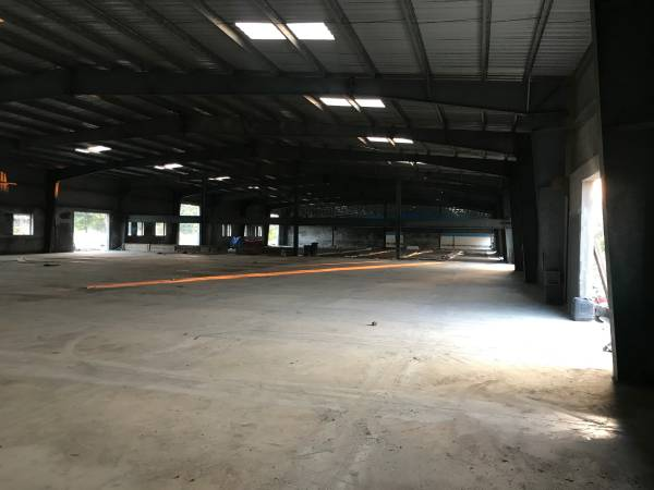 sq.ft Industrial shed on rental