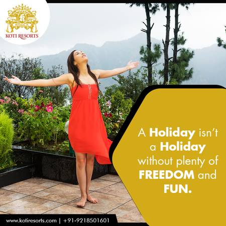 Spend a great holiday at great resort in Himachal Pradesh