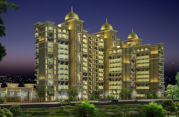 Purvanchal Kings Court: 3 BHK Apartments in Vinamra Khand