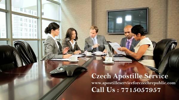 Czech Republic Apostille Services in Indore