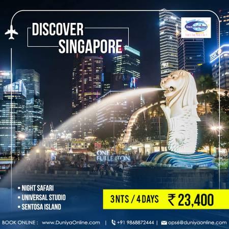 Enjoy Quick & Wonderful Family Holiday in Singapore Budget