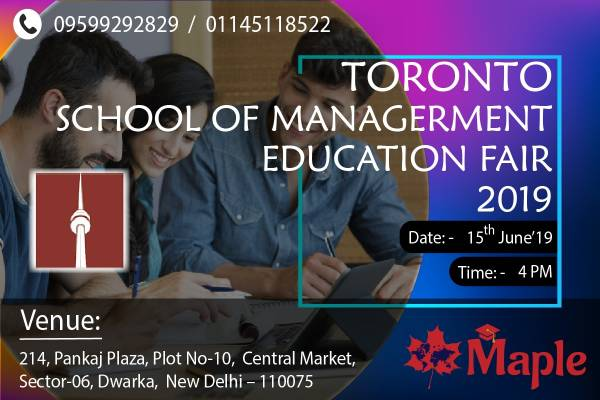 Study in Canada - Free Education Fair in Dwarka - Free