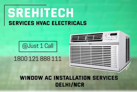 Window AC Installation Services in DelhiNCR 1800 121 888 111