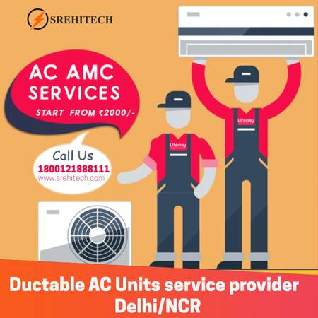 Ductable AC Units service provider in Delhi/NCR