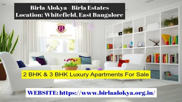 Buy Birla Alokya Pre Launch Apartments For Sale