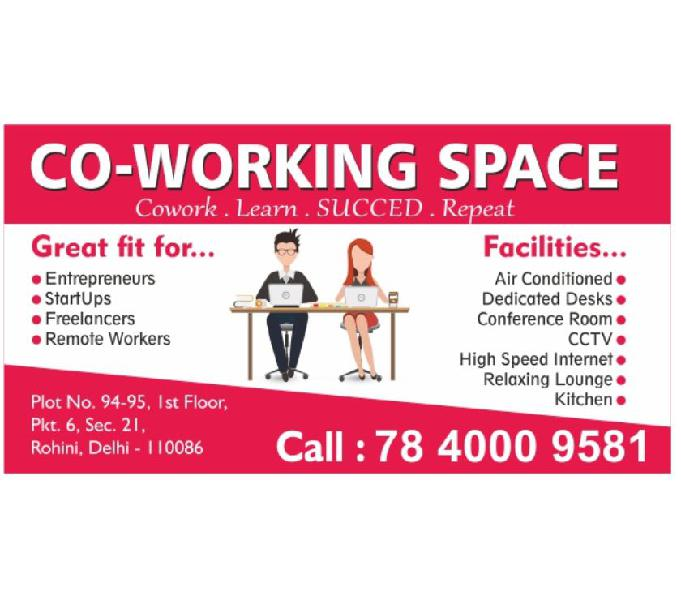 Co-working Space In Rohini Sector 21