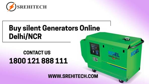 Silent Generator on hire in Delhi/NCR,India