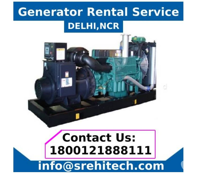 Generator Rental Services in DelhiNCR New Delhi