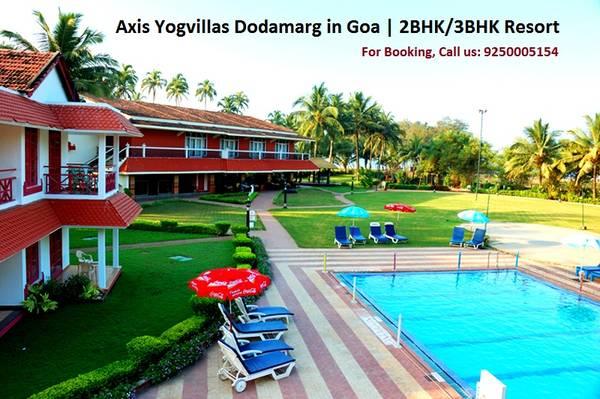 Axis Yogvillas Dodamarg in Goa   2BHK/3BHK Resort Residence