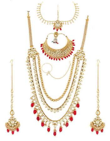 Buy Designer Dulhan Set & Bridal Jewellery Online at Low