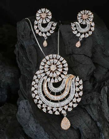 Buy Pendant Set For Women & Pendant Earrings Set Online at