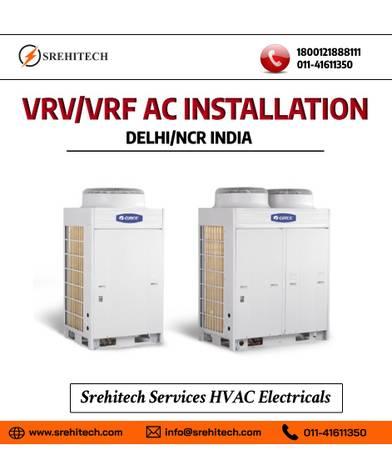 VRV/ VRF Installation Services in Delhi/NCR, India