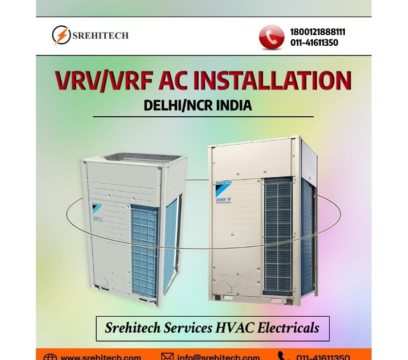VRV VRF Installation Services in DelhiNCR, India