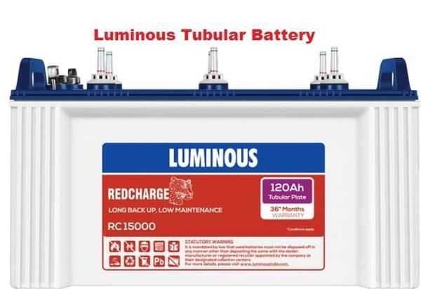 Luminous Tubular Battery