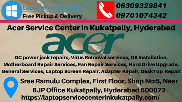 Acer service centre in Ameerpet