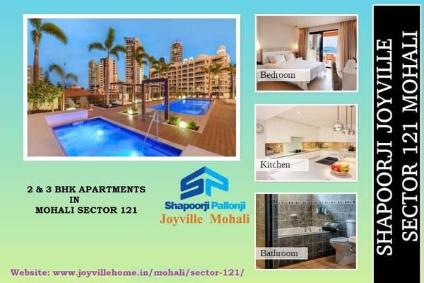Buy 2 BHK & 3 BHK Apartments at Shapoorji Joyville Mohali |