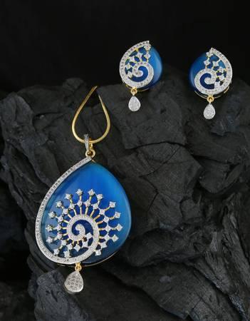 Buy Collection of Diamond Pendant Designs at Anuradha Art