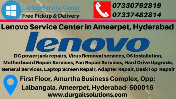 Lenovo Service Center in Ameerpet