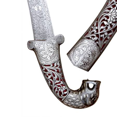 INDO PERSIAN JAGUAR FACE DAGGER