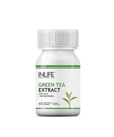 Buy Inlife Green Tea Extract Online Price in India |