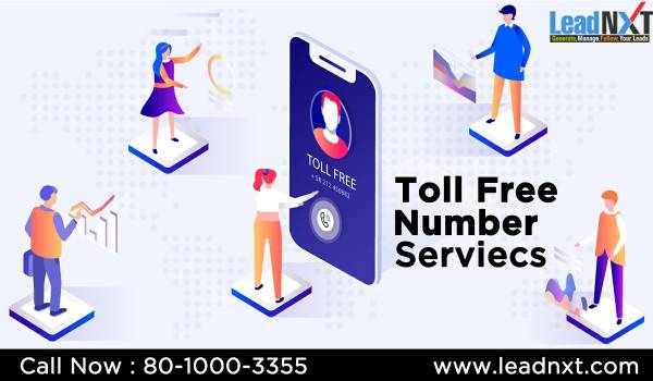 "Toll Free Number Services in noida |""leadnxt""