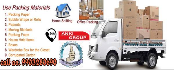 Anki Group packrs and movers howrah