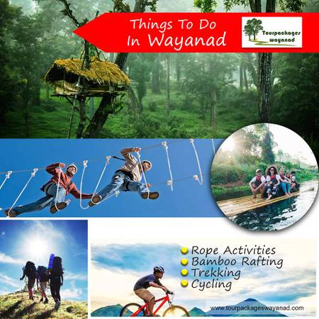 Best tourist places in wayanad include Wayanad tour packages