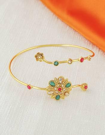 Buy an exclusive Bajuband design at Anuradha Art Jewellery