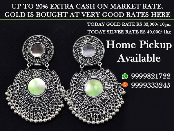 best Silver jewelry dealer in Rohini