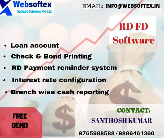 Best Online Real Estate RD FD Software