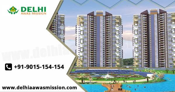Buy 1BHK apartments at Delhi Awas Mission