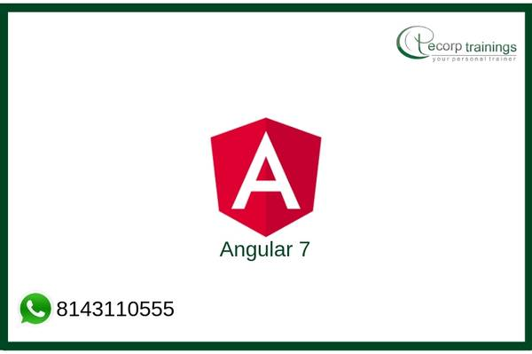 Angular 7 Training Online
