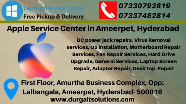 Apple laptop service center in Ameerpet