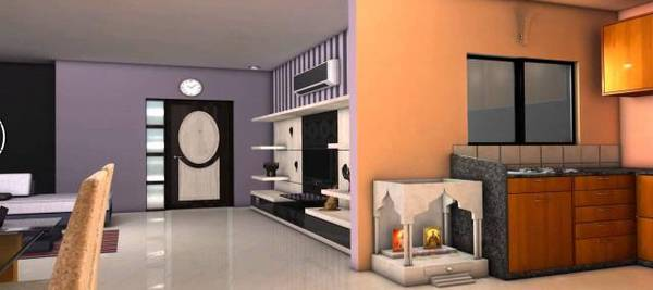 Furnished 2 Bhk Third Floor Flat Rent Green Park Delhi
