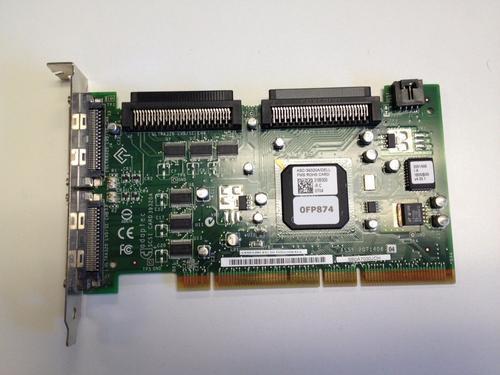 ASC-39320A/DELL FMS ROHS 2 CHANNEL ULTRA 320 SCSI PCI-X-133