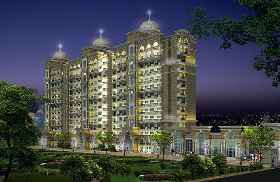 Purvanchal Kings Court 4BHK Flats in 1 25 Cr Onwards