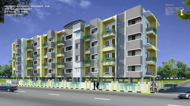2 bhk flat for sale in jp nagar