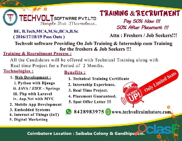 Digital Marketing Summer Internship in Coimbatore