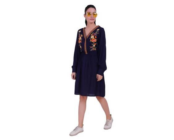 Online printed dress for girls