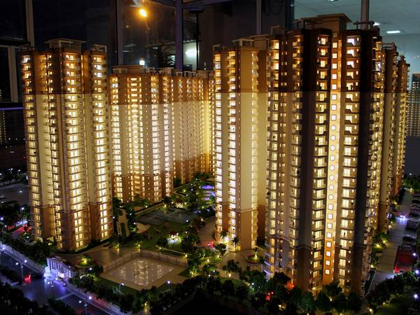 Book Luxurious 3 BHK flat at Charms Castle  