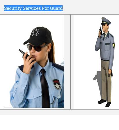 Security services for guard - Chaudhary security service