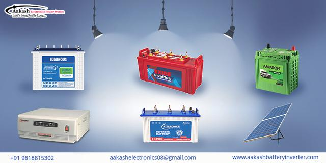 Tips to Increase the life of Your Battery Inverter Aakash E
