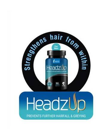 Buy Headzup Men 90 Tablets online in India - TabletShablet