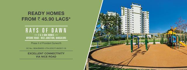 2 3 BHK Flats in Mysore Road Bangalore Provident