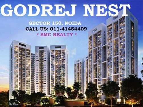 Book luxury flats in Godrej Nest in Noida sector 150