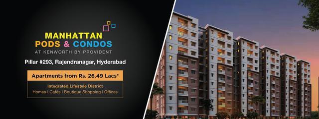 Kenworth by Provident Flats in Rajendranagar Hyderabad