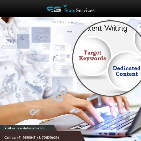 Content Writer Services in Delhi - State Services