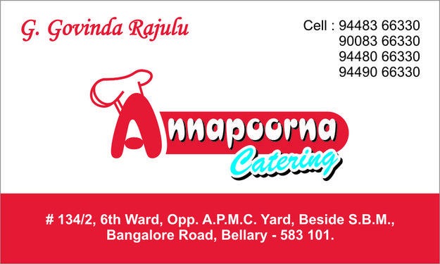 Annapoorna Catering and Bulk food Suppliers