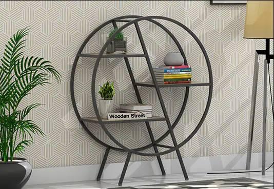 Get solid wood Bookshelf online   Buy Book shelves at 55%